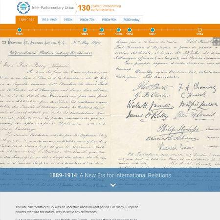 IPU 130 years