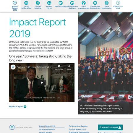 IPU impact report 2019